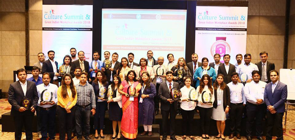 Culture Summit & Great Indian Workplace Awards 2018